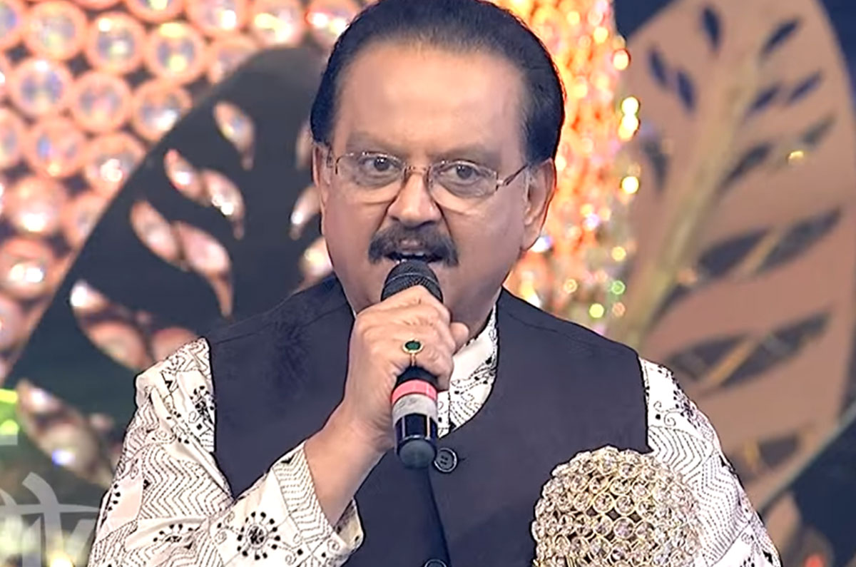 Singer S P Balasubramanyam Questions Actress' Choice Of Dress ...  Bala Subramanyam in critical condition and shifted to ICU BP 1 636846800783794484