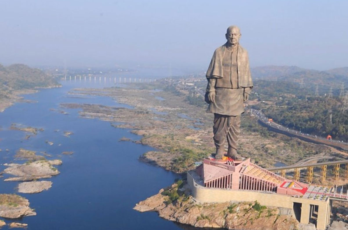 Statue Of Unity On TIME Magazine's 100 Greatest Places 2019